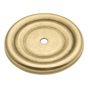 1-7/8 In. Manor House Lancaster Hand Polished Knob Backplate Product Image