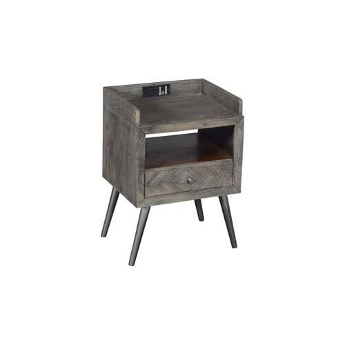 Crestview Collections - Freeport 1 Drawer Accent Table