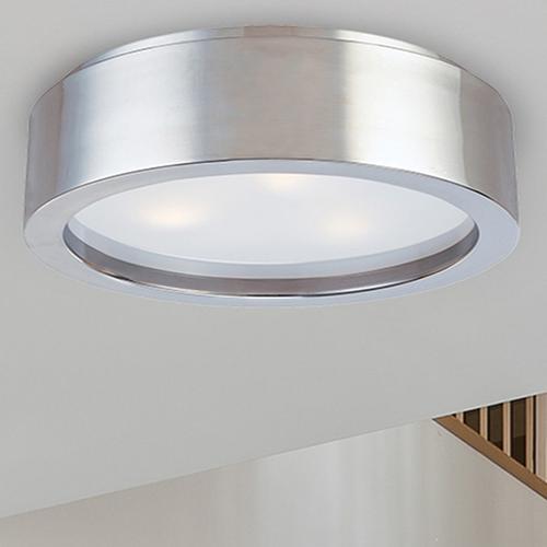 "Sonneman - A Way of Light - Puck Slim LED Surface Mount [Size=12"", Color/Finish=Satin Nickel]"