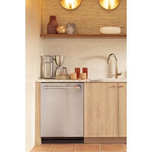 Café™ Stainless Steel Interior Dishwasher with Sanitize and Ultra Wash & Dry