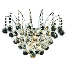 Victoria Collection Wall Sconce Chrome Finish 3Lt