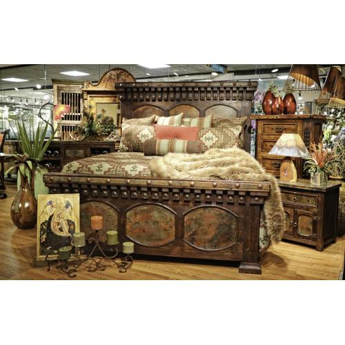 L.M.T. Rustic and Western Imports - Capitel Copper Chest
