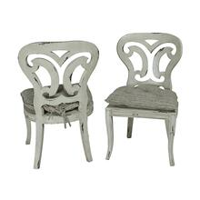 See Details - ARTIFACTS SIDE CHAIR - Set of 2