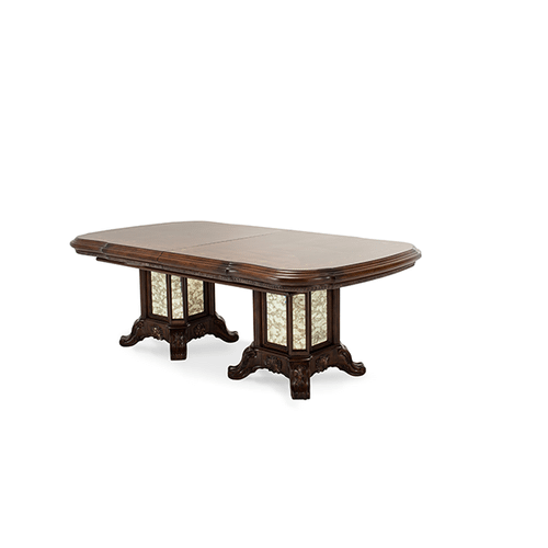 Rectangular Wood Dining Table (3 pc)