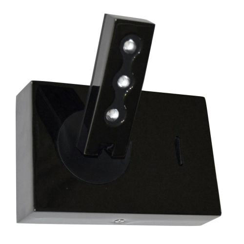 Product Image - Wall Sconce W/ Reading Lamp, Black Finish