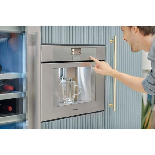 24-Inch Built-in Plumbed Coffee Machine with Home Connect TCM24PS