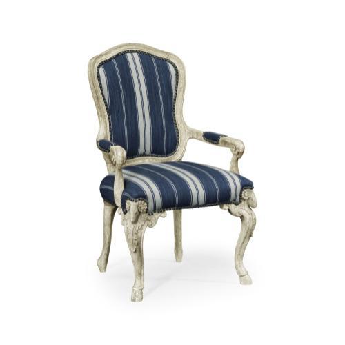 Tarporley Grey Oak Armchair
