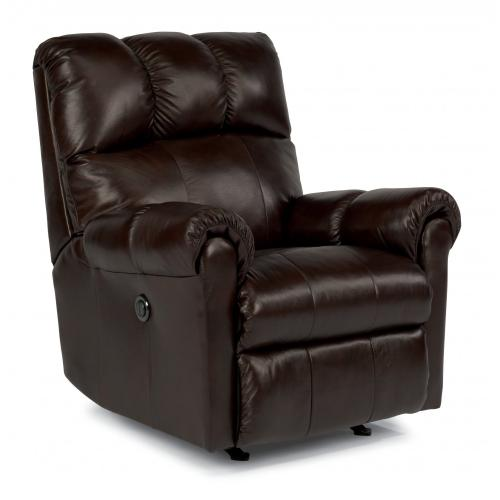 Product Image - McGee Leather Power Rocking Recliner