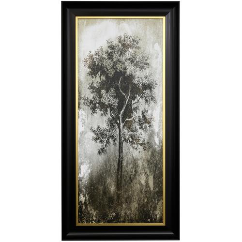Style Craft - TREE IN THE GLOOM I  27 X 55  Made in USA  Textured Framed Print