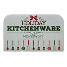 Holiday Kitchenware Sign. Product Image