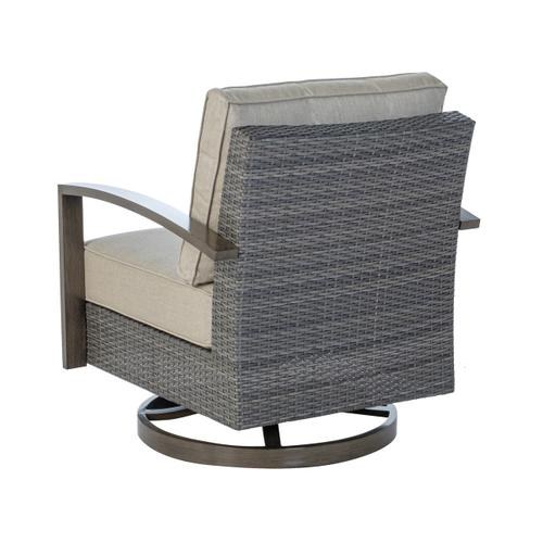 Kennett Deep Seating Swivel Rocker