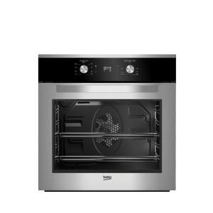 """Beko24"""" Fingerprint-Free Stainless Steel Wall Oven"""