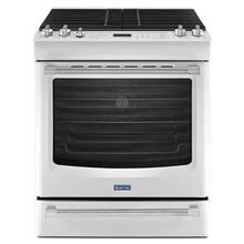 See Details - White Ice Maytag® 5.8 cu. ft. Front Control Gas Range with the FIT System