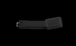 Square Handshower Black Product Image