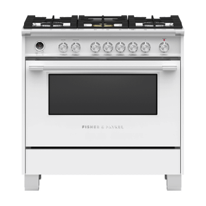 """Dual Fuel Range, 36"""", 5 Burners, Self-cleaning Product Image"""