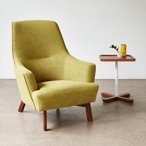 Hilary Chair Stockholm Cobalt / Walnut