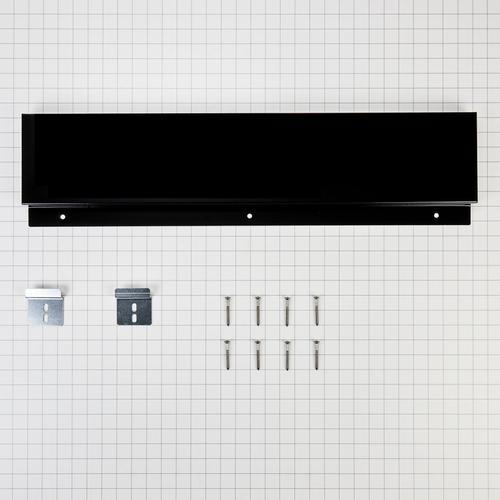 KitchenAid - Slide-in Range Backsplash - Black