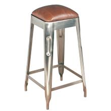 Metal Press Counter Stool