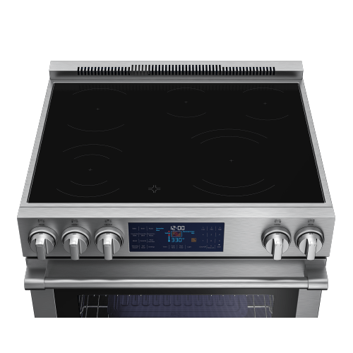 "30"" Stainless Steel Slide-In Electric Range"