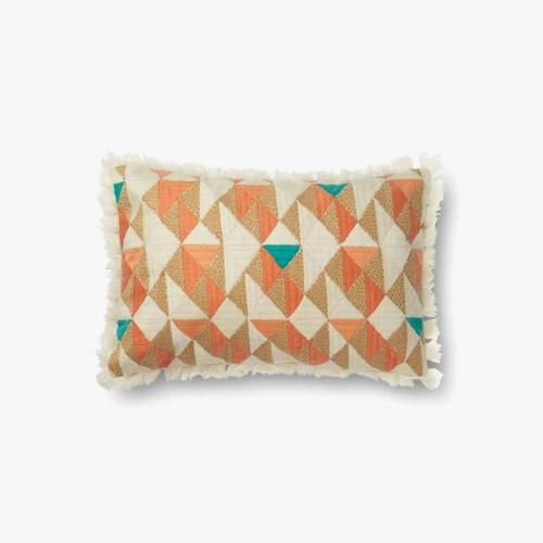 P0631 Orange / Multi Pillow