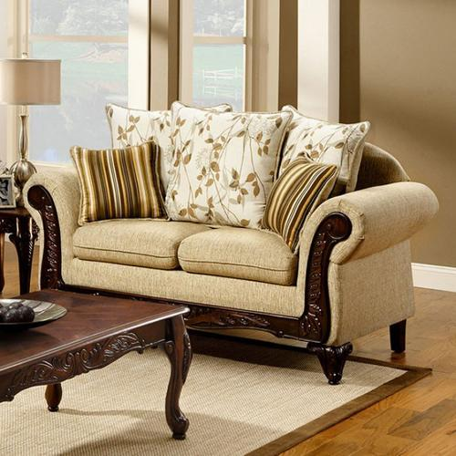 Furniture of America - Doncaster Love Seat