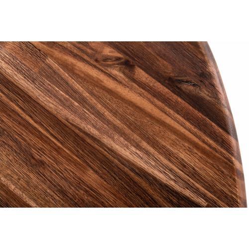 Modrest Baltic - Farmhouse Brown Acacia Wood Coffee Table