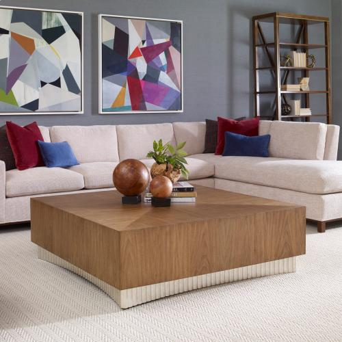 Ambella Home - Palisade Square Cocktail Table