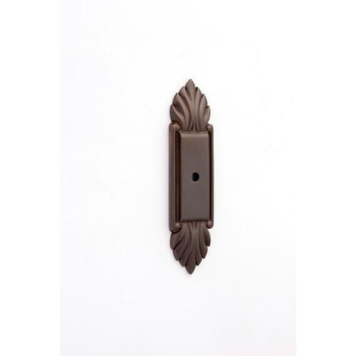 Fiore Backplate A1475 - Chocolate Bronze