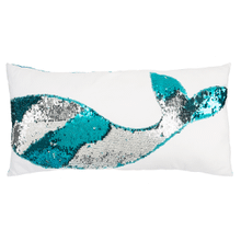 Reversible Sequin Mermaid Tail Pillow