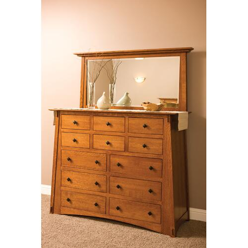 McCoy 12-Drawer Bureau, Large