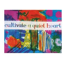 "See Details - ""Quiet Heart"" Magnet."