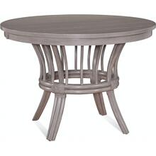 Meridien Round Dining Table with Wood Top and Apron