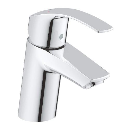 Eurosmart Single Hole Single-handle S-size Bathroom Faucet 1.2 Gpm Less Drain