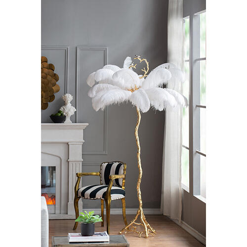 A & B Home - Floor Lamp