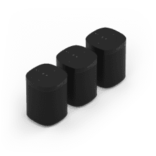 See Details - Black- A trio of powerful smart speakers for rich sound in up to three rooms.