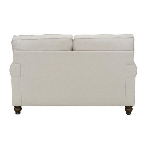 Angelina Upholstered Loveseat, Linen