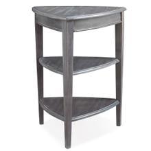 Shield Tier Table in Smoke Gray #9009-GR
