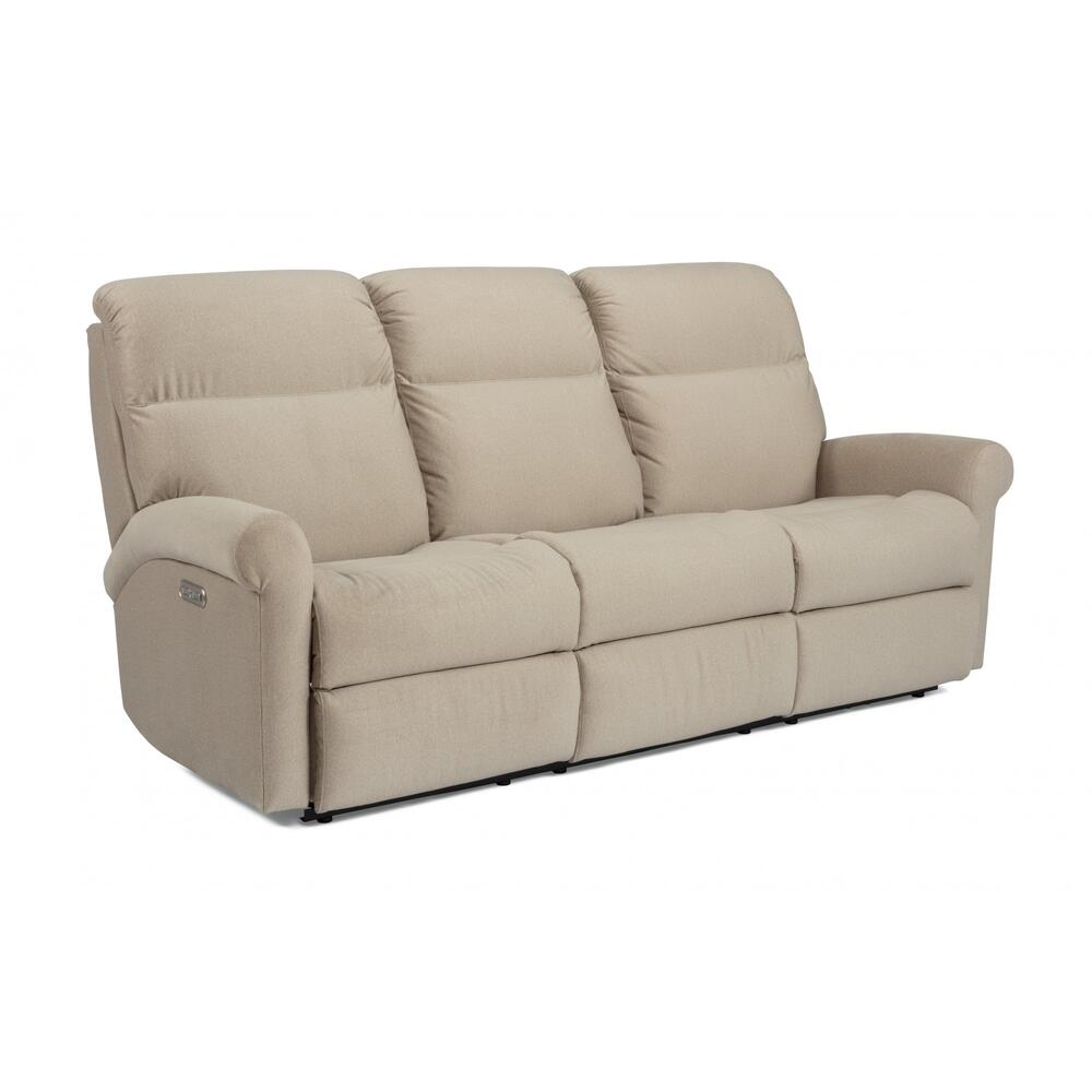 Davis Power Reclining Sofa with Power Headrests