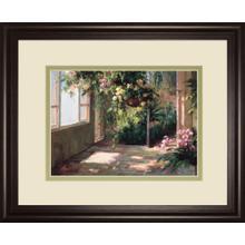 """""""Atriums First Light Il"""" By Hali Framed Print Wall Art"""