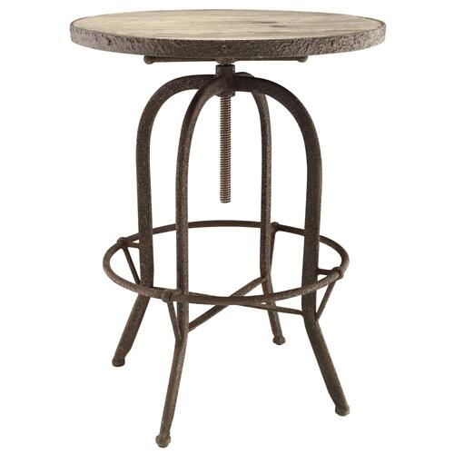 Sylvan Wood Top Bar Table in Brown