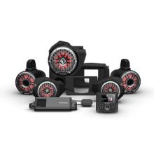 View Product - PMX-3, 1500 Watt, Front Color Optix™ Speaker, Subwoofer & Rear Horn Speaker Kit for Select Polaris® RZR® Models (Gen-3)