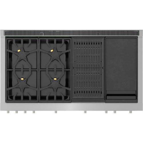 Thermador - Dual Fuel Professional Range 48'' PRD484WCHU