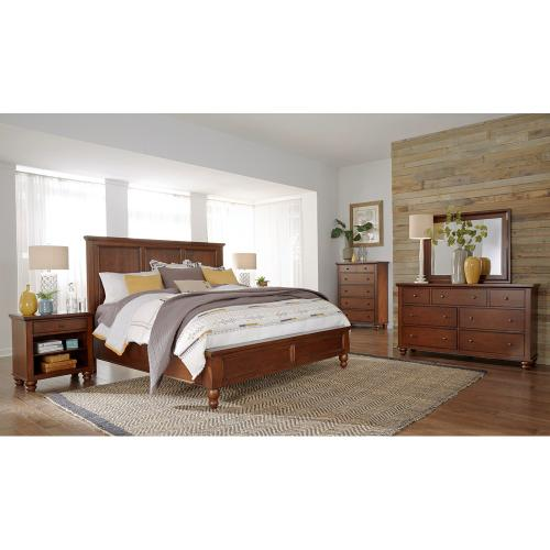 Aspen Furniture - King Panel Bed