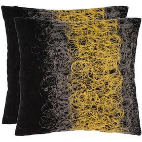 Dubios Pillow - Yellow / Onyx