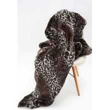 """See Details - Lepo Throw Collection - 50"""" x 60"""" / Brown / 100% Polyester"""