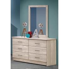 Birch Dresser & Mirror