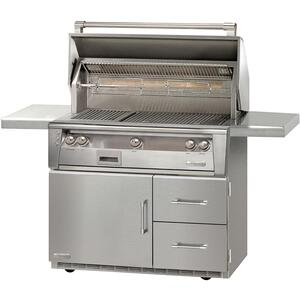 "Alfresco42"" Standard Grill on Refrigerated Base"