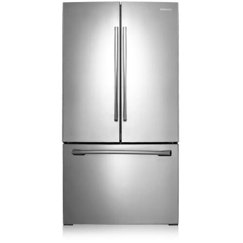Samsung Canada - RF261BEAESR French Door Refrigerator with Twin Cooling Plus, 25.6 cu.ft