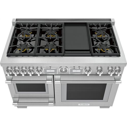Dual Fuel Professional Range 48'' Pro Grand® Commercial Depth PRD48WDSGU
