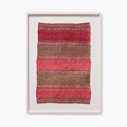 0325430006 Vintage Textile Wall Art